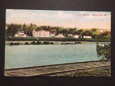 Antique POSTCARD c1907-20 U.S. Arsenal AUGUSTA, ME Maine (20581)