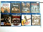 Lot of 8  adult/young adult Blu-ray movies assorted Need for Speed and more