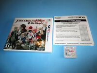Fire Emblem Fates Birthright (Nintendo 3DS) XL 2DS Game w/Case & Insert