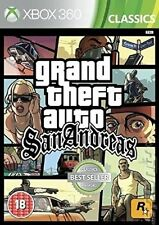 Grand Theft Auto San Andreas Microsoft Xbox 360 Ages 18 Years by Rockstar Games