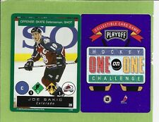 1995-96 Playoff 1-on-1 Hockey Complete Common & Uncommon Set 220 cards NRMT