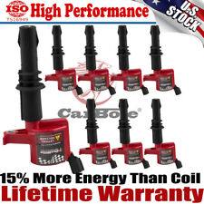 DG511 8Pcs Spark Plug Ignition Coil Pack For Ford F150 F250 4.6L 5.4L 6.8L US
