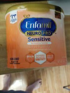 Enfamil Neuropro Sensitive Formula 19.5 Oz Exp 10/01/22