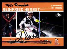 12 Autogrammkarten Ski Alpine Original Signiert+A 156522
