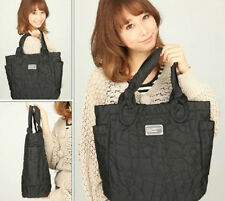 HOT SALE MARC BY MARC JACOBS BLACK NYLON WOMEN SOLID CASUAL BAG HAND BAG