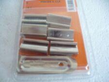 pinces a clé   6 clips pour sous verre reliure 25 mm avec 2 pinces