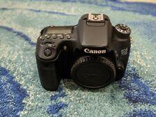 Canon EOS 70D 20.2MP Digital SLR Camera - Black Body + bonuses