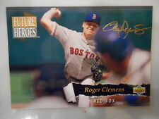 1993 Upper Deck Roger Clemens Boston Red Sox Future Heroes #57 Baseball Card