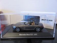 MERCEDES-BENZ SLS AMG ROADSTER  GRIS MAGNETIC SCHUCO 1/43 EN BOITE NEUF
