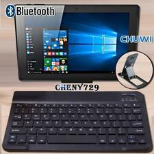 "For 9.7"" 10"" 12"" CHUWI Tablet Slim Wireless Bluetooth Keyboard + Stand Holder"