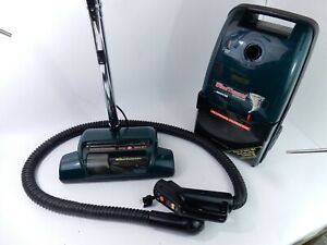 Hoover S3630 WindTunnel Green Canister Vacuum Cleaner Complete - Fully Funct.