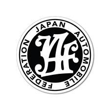 JAF JDM Sticker Decal Car Drift Turbo Euro Fast Vinyl #0149