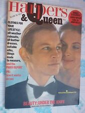 HARPERS & QUEEN march 1973 Michael York Hildegard Neil Andre Carrara Bisho RARE!