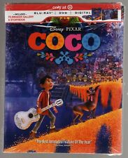 COCO BLU RAY / DVD / DIGITAL TARGET EXCLUSIVE BRAND NEW STORYBOOK DISNEY PIXAR
