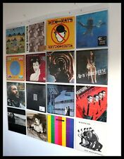 "RECORDS VINYL DISPLAY  WALLETS 8 x 12"" VINYL RECORD WALL HANGING SLEEVES POCKETS"