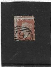 GREAT BRITAIN SG.17 1d. RED SMALL CROWN PERF 16 MAJOR MIS-PERF VERY  FINE USED