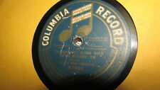 ANNA CHANDLER COLUMBIA 78 RPM RECORD 1956 TASKA, HOOLA, HICKEY DOOLA