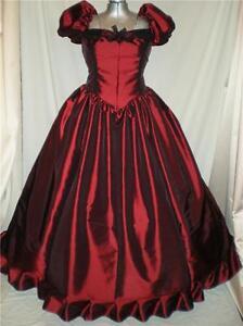 """Southern Belle Civil War SASS Nutcracker Old West Ball Gown Dress 32"""" Bust"""