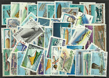 AIRCRAFT Collection Packet of 50 Different AEROPLANES Stamps of the World