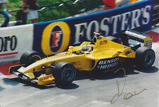 Giancarlo Fisichella Hand Signed Photo 12x8 1.