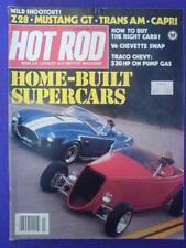 HOT ROD - HOME BUILT SUPERCARS - July 1982 vol 35 #7