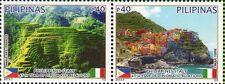 2013 Italia Congiunta Filippine 65° rapporti diplomatici Cinque Terre MNH**