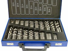 Bohrer Set 170 tlg. HSS-R (EG) Spiralbohrer Metallbohrer Stahlbohrer 1 - 10mm