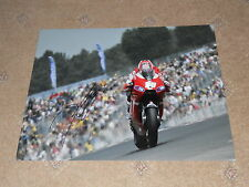 Nicky Hayden Hand Signed Ducati Motogp Photo Large.