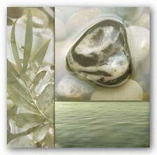 FLORAL ART PRINT Zen Elements IV Donna Geissler