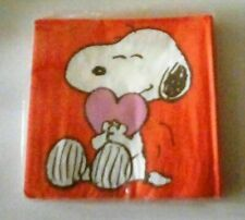 Peanuts 2 Packages BABY SNOOPY Paper Napkins VALENTINE'S DAY or BABY SHOWER