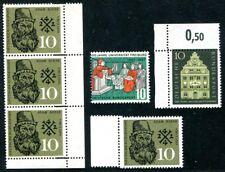Federal 1957 256,279,308 ** MINT striking verzähnungen (a9976