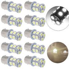 10pcs White 1156 BA15S Brake Backup Reverse LED Car Light Bulbs P21W 1141 12V