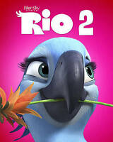 Rio 2 (Blu-ray Disc, 2014) DISC ONLY - NO COVER ART