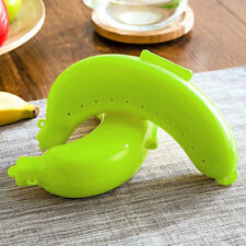 Fruit Banana Protector Box Holder Case Lunch Container Storage Cute 3 Colors