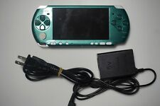 PSP-3000 console Green White Customize PlayStation Portable system Please Read