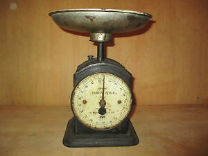 Vintage Collectable Hughes Family scale No. 48.