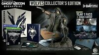 Ghost Recon Breakpoint Wolves Collector's Edition XBOX ONE + Cole Walker Statue