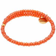 Alex and Ani Apricot Wrap Rafaelian Gold Finish Beaded Bracelet V18WC03RG