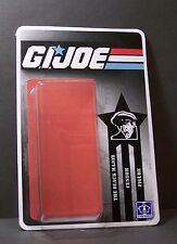 Custom GI Joe BLACK MAJOR figure card and blister for you !!!