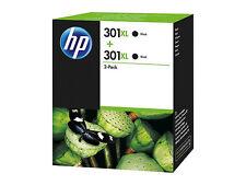 CH563EE HP ORIGINAL HP301 XL 2x Black SET for DJ DESKJET 3057 3059 3054a 3055a