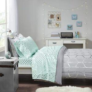 Intelligent Design Microfiber Bed Sheet Set Wrinkle Resistant, Soft Sheets with