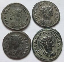 Lot of Four Roman Antoninianus  472