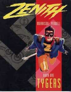 Zenith: book 1 : Tygers (2000 A.D) by Grant Morrison and Steve Yeow