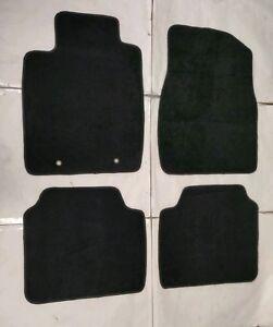 Fits 02-06 Lexus ES300 ES330 Black Nylon Floor Mats
