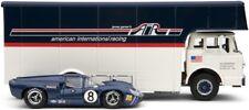 1966 EXOTO 'C TYPE' CAR TRANSPORTER 69 AIR RACING SET Lola T70 Mk III Coupe 1/43
