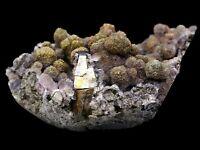364.4g Rare Fluorite & 7Colored Pyrite & Arsenopyrite Mineral Specimen/China