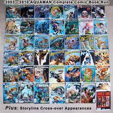 AQUAMAN 2003-2008, COMPLETE FULL RUN, 66 DC Comics Books, Sword Of Atlantis Era