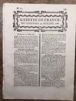 Édits de Parme 1768 Sicile Napoli Italie Canada Fort Détroit Brioude Dijon