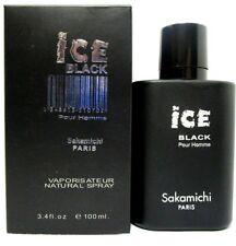 SAKAMICHI ICE BLACK Eau De Parfum Spray FOR MEN 3.4 Oz / 100 ml BRAND NEW ITEM !