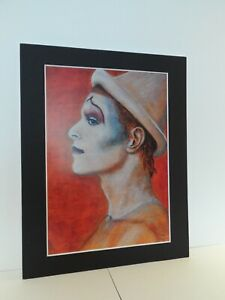 """David Bowie original Art Ashes to Ashes 14"""" x 11"""" A4 Mounted Print"""